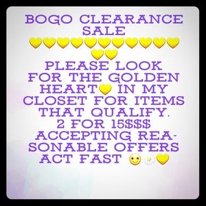 Other - 💛💛💛  2 For 15$ 💛💛💛  CLEARANCE